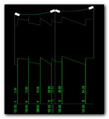 Podélný profil ve starší verzi SPIDER-EN